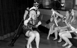 Male stripper Benalmadena dressed as policeman